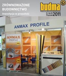 Budma 2011 ANMAX PROFILE