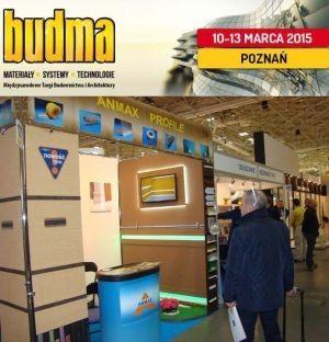 Budma 2015 ANMAX Producent Profili Pcv Bonie Kapinos Okapniki