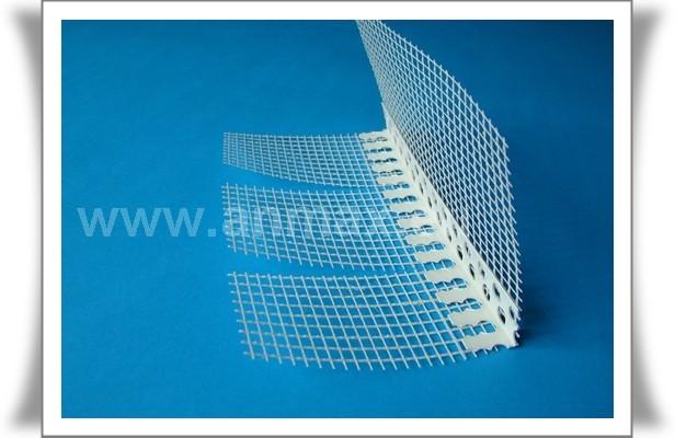 Narożnik PVC łukowy z siatką