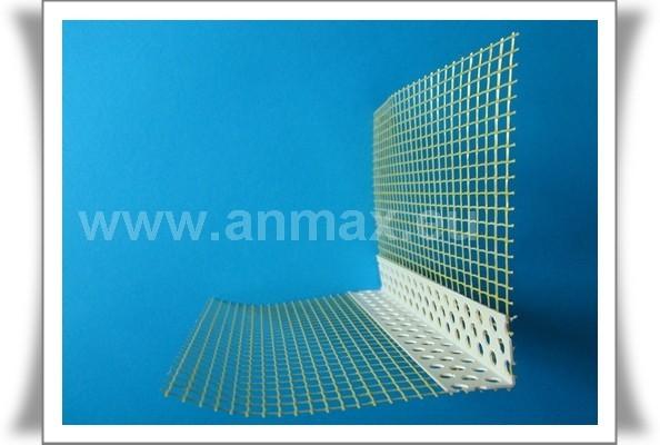 Narożnik PVC prosty z siatką